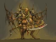 Príncipe demonio de Nurgle by adrian-smith