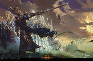 Altos Elfos por Bayard Wu Warhammer Total War II