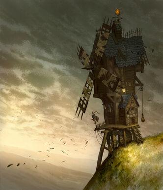 Molino de viento Imperio por Jonathan Kirtz Warhammer Online