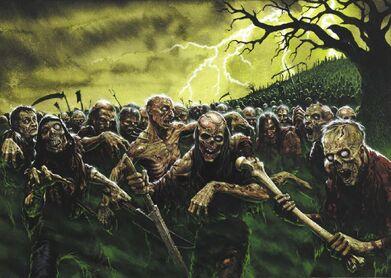 Zombies por Karl Kopinski