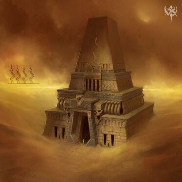 Templo Reyes Funerarios war concept