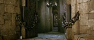 Entrance to Jareth's castle