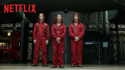 La Casa De Papel - Parte 2 Tráiler oficial Netflix