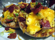 Bacon-n-egg-muffin