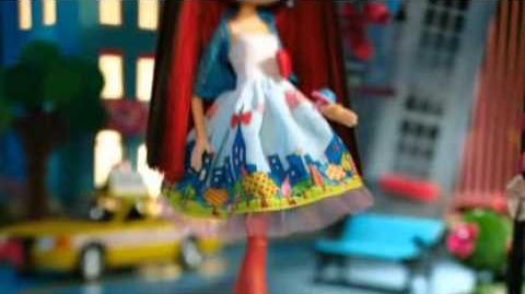 2012 La Dee Da - City Girl doll Commercial *English*