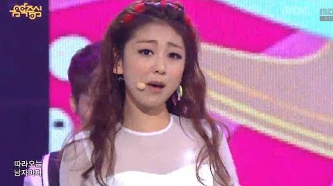 LADIES' CODE - Pretty Pretty, 레이디스 코드 - 예뻐 예뻐 Music Core 20130914