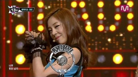 레이디스코드 So Wonderful (So Wonderful by Ladies' Code of Mcountdown 2014.02.20)