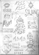 Kiss kiss cd case