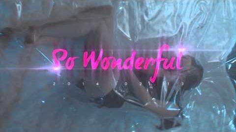 So Wonderful/Video