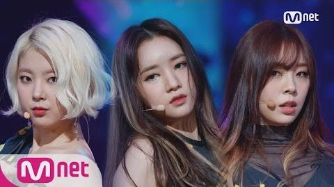 -LADIES' CODE - The rain- Comeback Stage - M COUNTDOWN 161013 EP.496