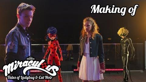 MIRACULOUS 🐞 LOU & LENNI KIM - BEHIND THE SCENE 🐞 Tales of Ladybug and Cat Noir