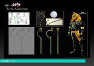 The Pharaoh - Villain's Scepter concept art
