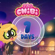 ZAG Chibi Countdown 7