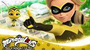 Queen Bee and Pollen YouTube banner
