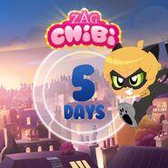 ZAG Chibi Countdown 5