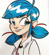 Marinette drawing by Brian Hess