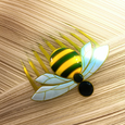 Bee Miraculous (charged) Square