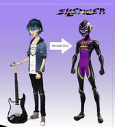 Luka as Silencer concept art