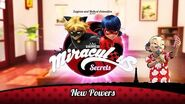 MIRACULOUS SECRETS 🐞 NEW POWERS 🐞 Tales of Ladybug and Cat Noir