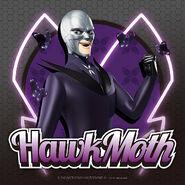 Hawkmoth with his akumas