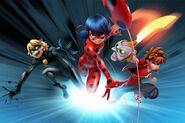"ZAG Heroez - ""Miraculous"" and ""Zak Storm"" Global Growth promotional artwork"