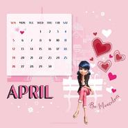 Miraculous Ladybug Calendar April 2020 (2)