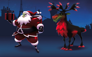 Santa Claws design