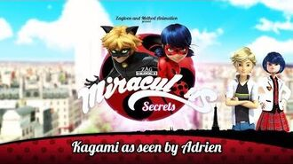 MIRACULOUS SECRETS 🐞 KAGAMI AS SEEN BY ADRIEN 🐞 Tales of Ladybug and Cat Noir-1
