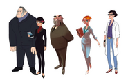 Adults concept art