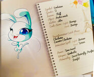 Miraculous Kwamis' Booklet - Fluff