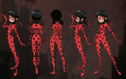 Ladybug Early 2D Body Character Sheet
