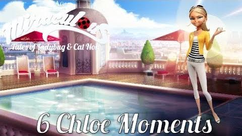 MIRACULOUS 🐞6 CHLOE MOMENTS 🐞 Tales of Ladybug and Cat Noir