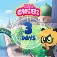 ZAG Chibi Countdown 3