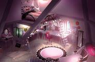 Marinette's Room 2D Concept Art