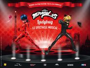 Miraculous le spectacle musical promotional artwork