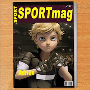 Adrien boxing magazine