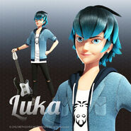 Luka with his guitar
