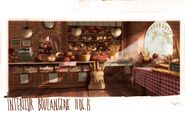 French themed Bakery Concept Art 1