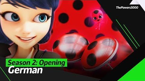 Miraculous Geschichten von Ladybug und Cat Noir Season 2 — Opening Sequence German