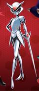 Unnamed white villain