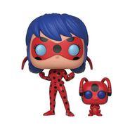 Ladybug with Tikki Funko Pop figure