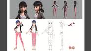 Marinette Early CGI Model