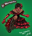 La Mariquita drawing by Thomas Astruc