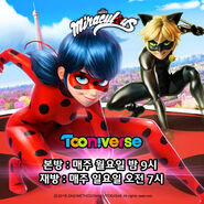 Ladybug and Cat Noir Tooniverse promotional artwork