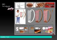 Kung Food - Candy Quiver model sheet