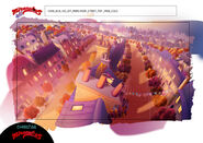 The Chase - Paris Roof Street top view model sheet