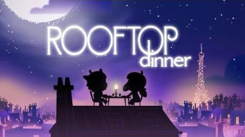 MIRACULOUS CHIBI - ROOFTOP DINNER