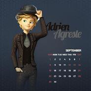 Adrien calendar september