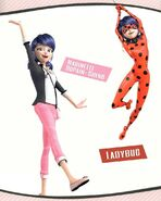 New Artworks (April 2018) - Marinette and Ladybug