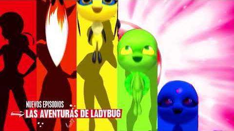 Las aventuras de Ladybug ¡Ha llegado la hora! Disney Channel Canal Oficial